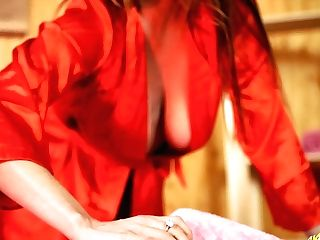 Provocative Whore Sophia Delane Shows Her Big Bosoms And Gives Best Ever Rubdown