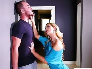 Fabulous Cougar Cherie Deville Deep Throats Dick Before Steamy And Crazy Hookup