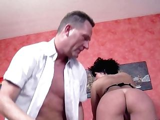 Two German Mummy Mom Tempt Stranger To Fuck With Her