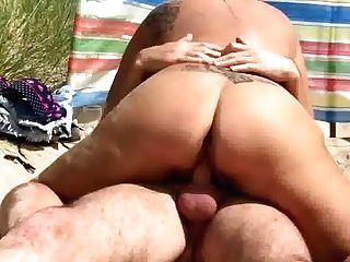 Clip Of Pornographic Star Katie Coquard Beach Fuck