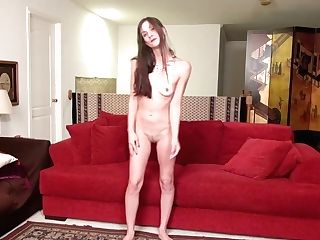 Skinny Cougar Frigging Herself