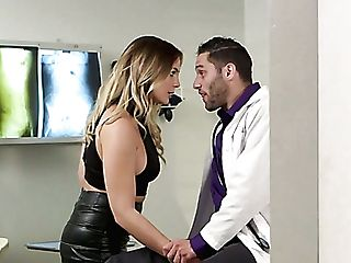 Mischievous Bootyful Blair Williams Lures Horny Medic For Some Steamy Fuck