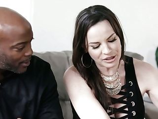 Mouth Watering Seductress Dana Dearmond Is Fucked By Horny Black Hunk