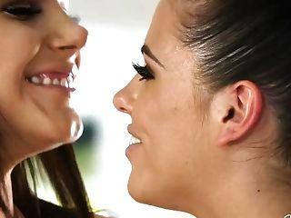 Adriana Chechik & Valentina Nappi In When Nymphs Have Fun Bday!
