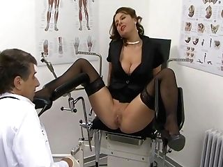 German Sexy Susi Saggy Bosoms Buttfuck Stockings