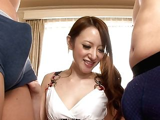 Divine Japanese Hoe Mai Shirosaki Gets Her Cunt Polished In Pose Sixty-nine