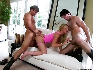 Paige Ashley Loves Two Boys At The Same Time To Cram Her Up