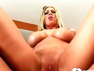 Buxomy Blonde Cougar, Devon Lee Likes To Make Out With Her Sonnies Friend Before Getting Fucked