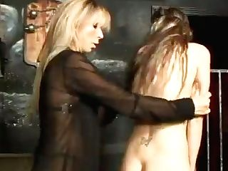 Kinkalicious Mistress Spanks Her Bottom's Butt Adorably Until It Turns Crimson