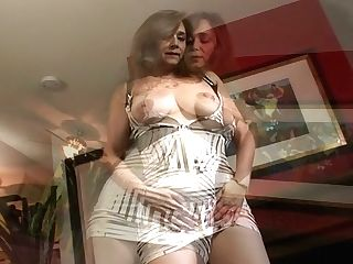 Exceptionally Perverted Housewife Shows Off Her Well-matured Tits