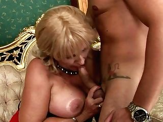 Horn Made Fat Mom In Playful Stockings Gets Fucked Missionary By Youthful Paramour