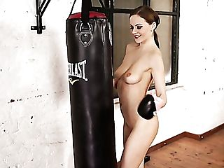 Nude Strong Boxer Tina Kay Flashes Her Bum And Sexy Titties