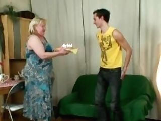 Fat Mommy-in-law Rails His Cheating Bone