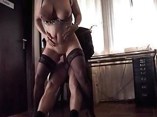 Big Saggy Draping Tits Mummy Stockings Analed