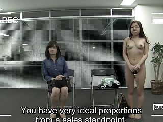 Jav Casting Mom Witnesses Daughter-in-law Unclothe For Casting